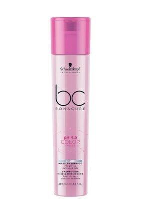 SCHWARZKOPF HAIR MASCARA Bonacure pH 4.5 Renk Micellar Silver Şampuan 250 ml