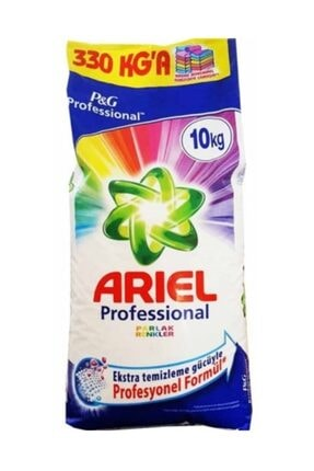 Ariel Parlak Renkler 10 kg Toz Çamaşır Deterjanı
