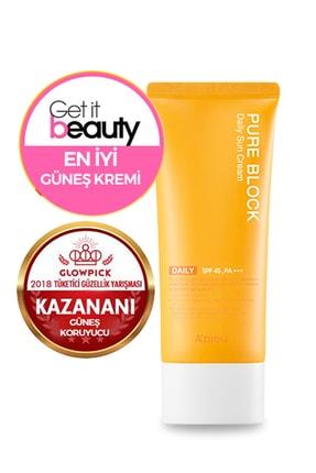 Missha Güneş Kremi - A'PIEU Pure Block Natural Daily Sun Cream SPF45/PA+++ 8809581450615