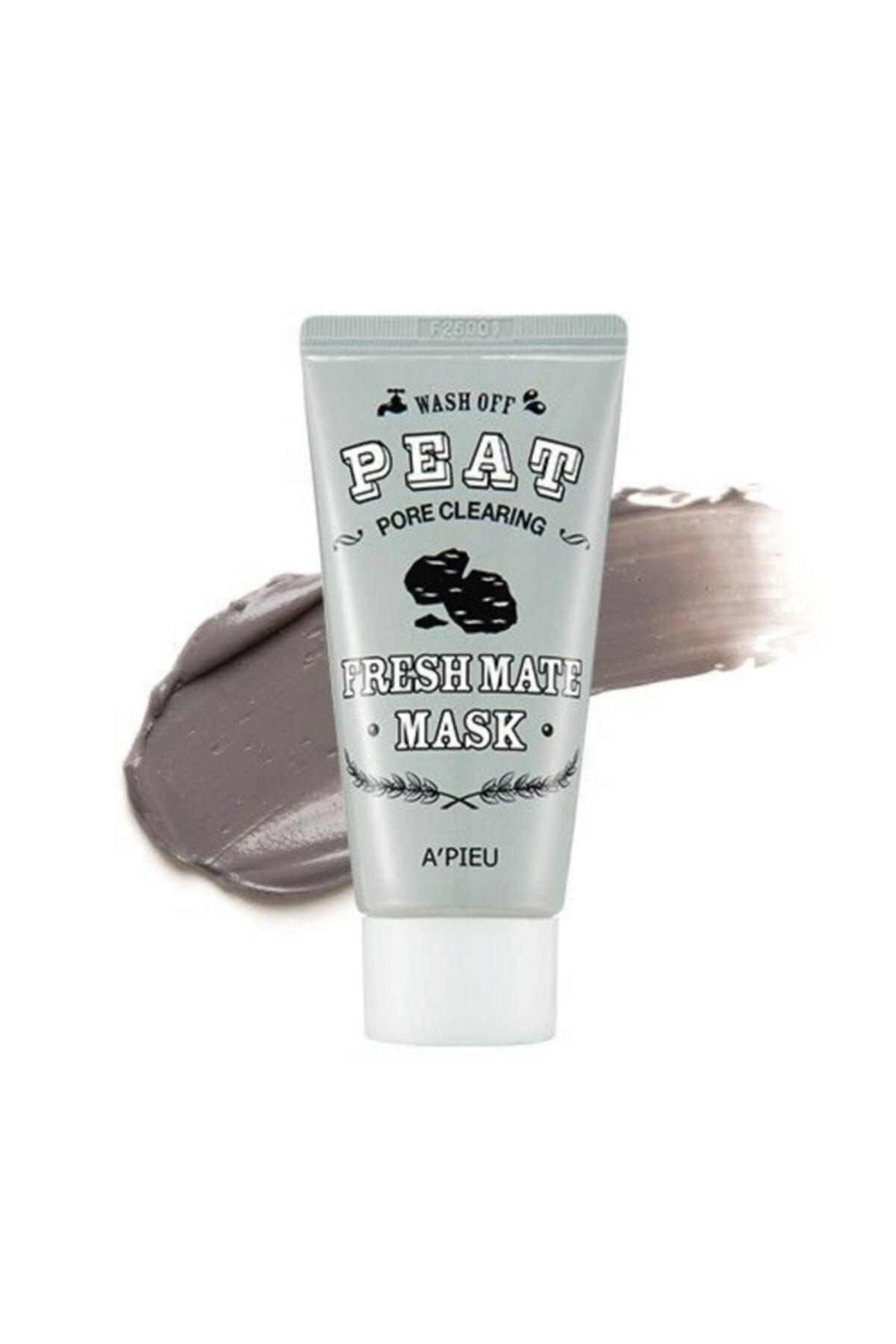 Missha Kil ve Kömür İçeren Gözenek Temizleyici Maske - Fresh Mate Mask Pore Clearing 50ml 8806185733359 1