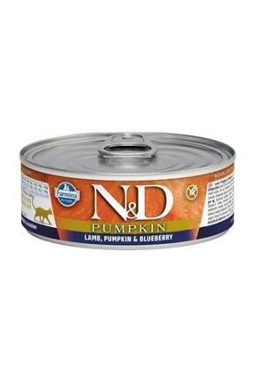 N&D ND Balkabaklı Kuzu Etli Kedi Konservesi 80 Gr