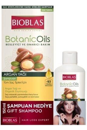Bioblas Botanic oil Argan Şampuan + 150 Ml Şampuan Hediyeli