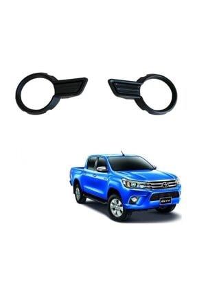 Toyota HİLUX REVO MAT SİYAH ÖN SİS KAPLAMASI (2016-2019)