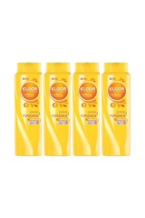 Elidor Şampuan Besleyici Bakım 500 ml 4 Lü Paket