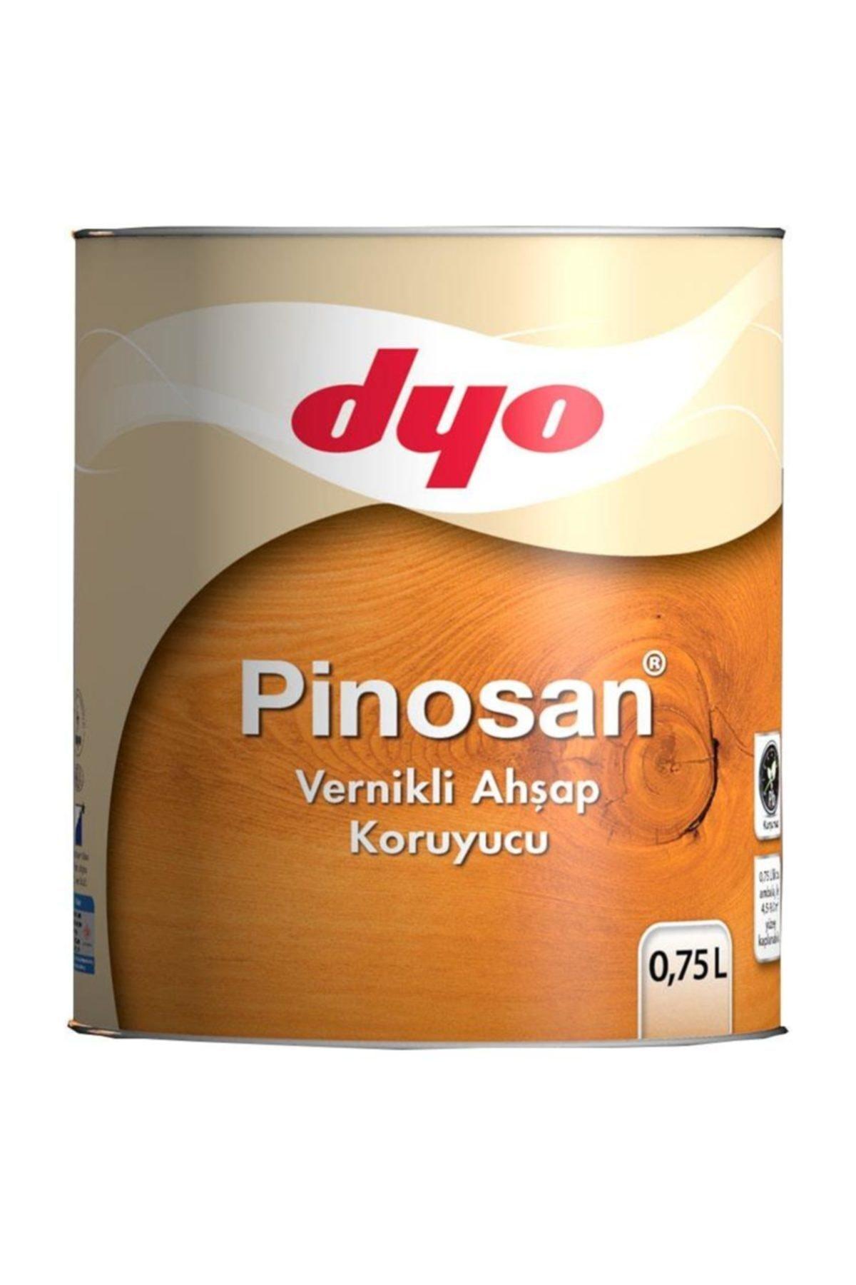 Dyo Pinosan Vernikli Ahşap Kor. 0,75 Lt Tarçın 1
