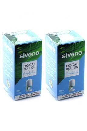 Siveno Roll-on Doğal Erkek 50ml x 2 adet