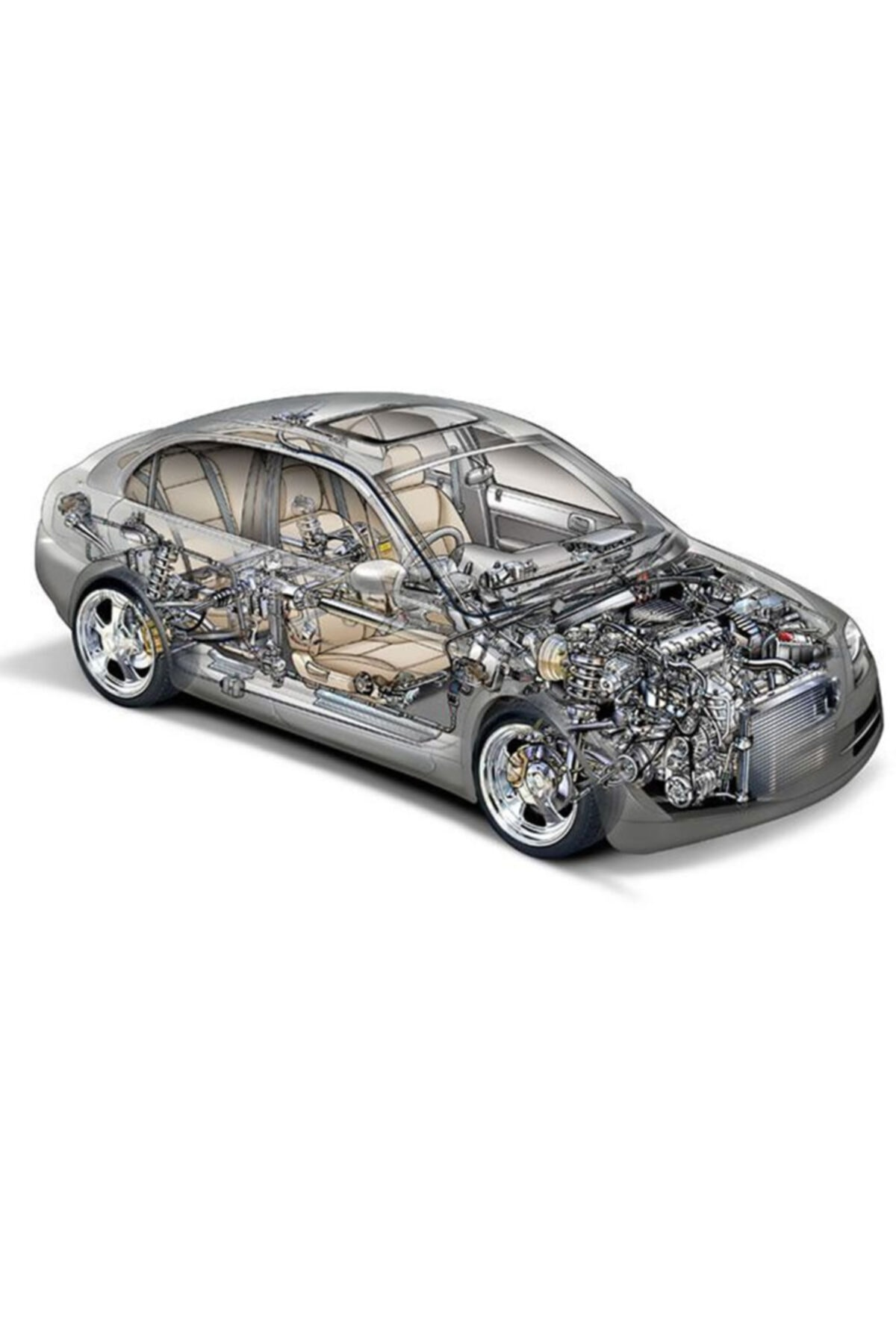 GOETZE Motor Piston+Segmani R12 1,3 (Std)- 1
