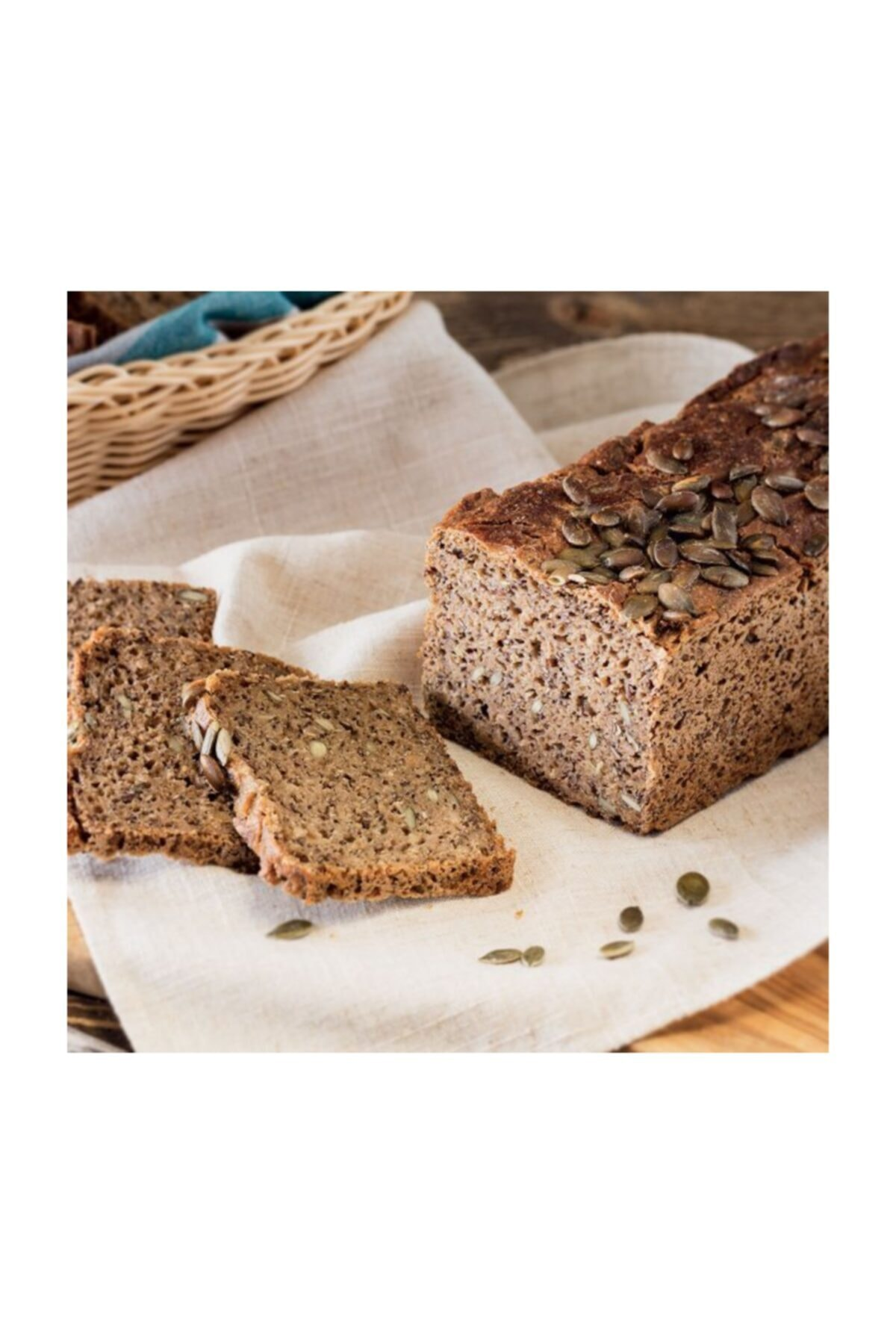 Pikan Fırın Tam Çavdar Kabak Çekirdekli Ekşi Maya Ekmek 1