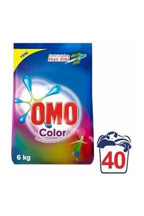 Omo Matik Toz Çamaşır Deterjanı Color 40 Yıkama 6