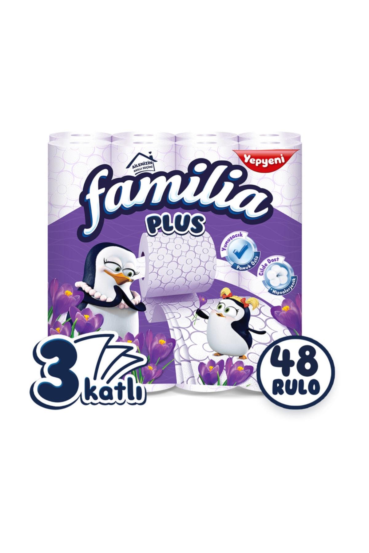 familia Plus Parfümlü Tuvalet Kağıdı 48 Rulo 1