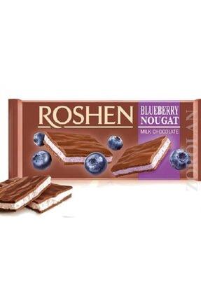 Nestle Roshen blueberry  nougat milk chocolate 90gr