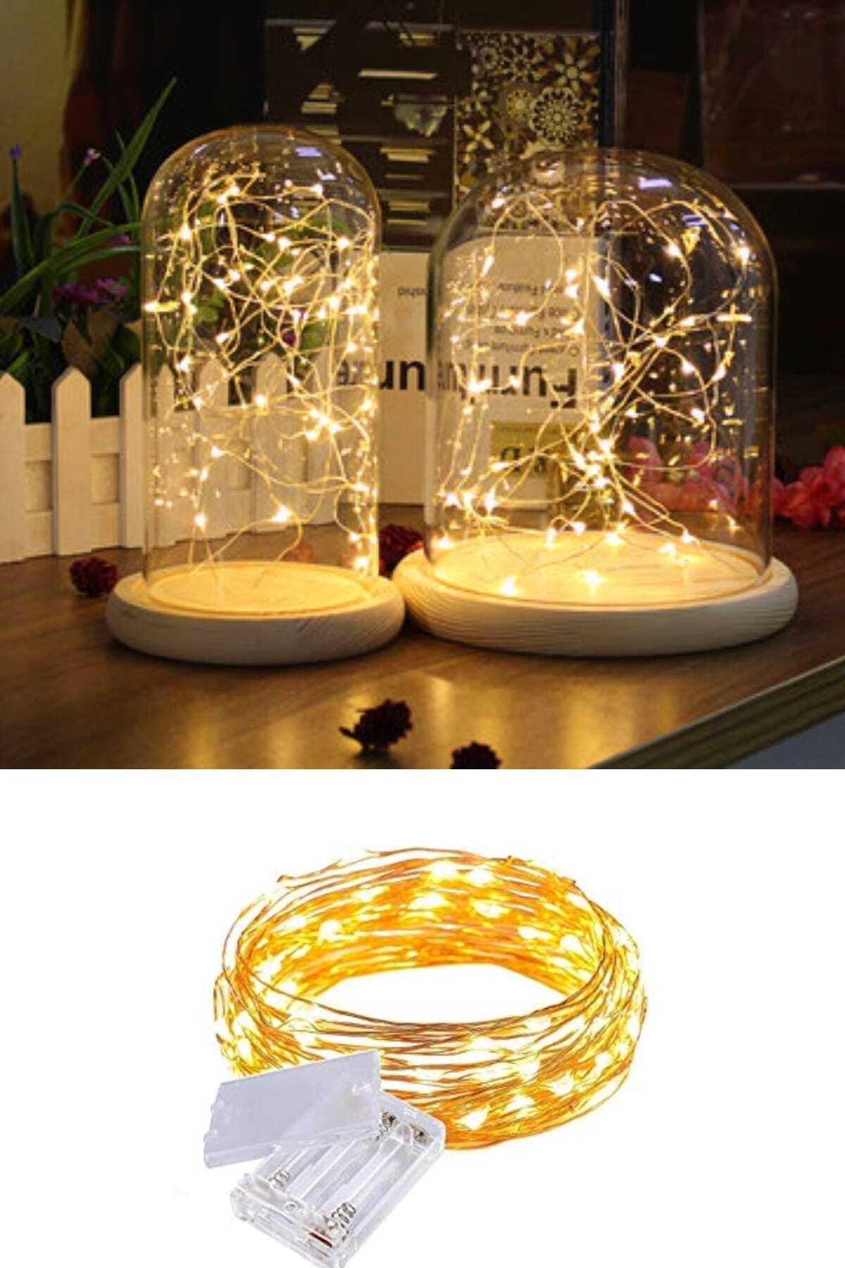 Buffer Peri Led Işık 10 Metre (Sarı) 2