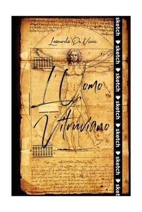 SKETCH BOOK L'Uomo Vitruviano - Leonardo da Vinci - Özel Tasarım Defter