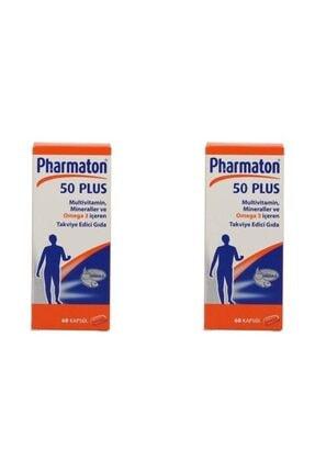 4moms Pharmaton50PLUS 60 KAPSÜL, 2'li Paket