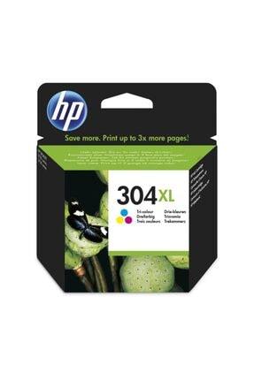 HP 304XL N9K07AE / Deskjet 2600/2620/2630 /3720 / 3730 / 3732 Renkli Orjinal Kartuş