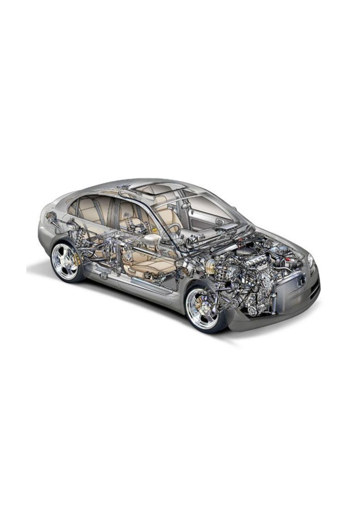 YENMAK Piston+Segman 050-(96.50)-(Nissan: D22 9802 Td27 ) - Yen-4569-050 1