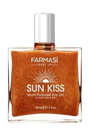 Farmasi Bronzlaştırıcı Işıltılı Yağ - Sun Kiss 50 ml 8690131113285