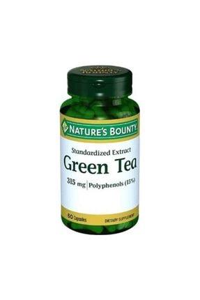 Nature's Bounty Green Tea 315mg 60 Kapsül