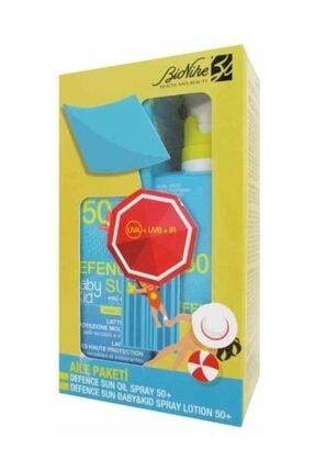 BioNike Defence Sun Oil Spray 150ml + Baby and Kid Spray Lotion 125ml Set