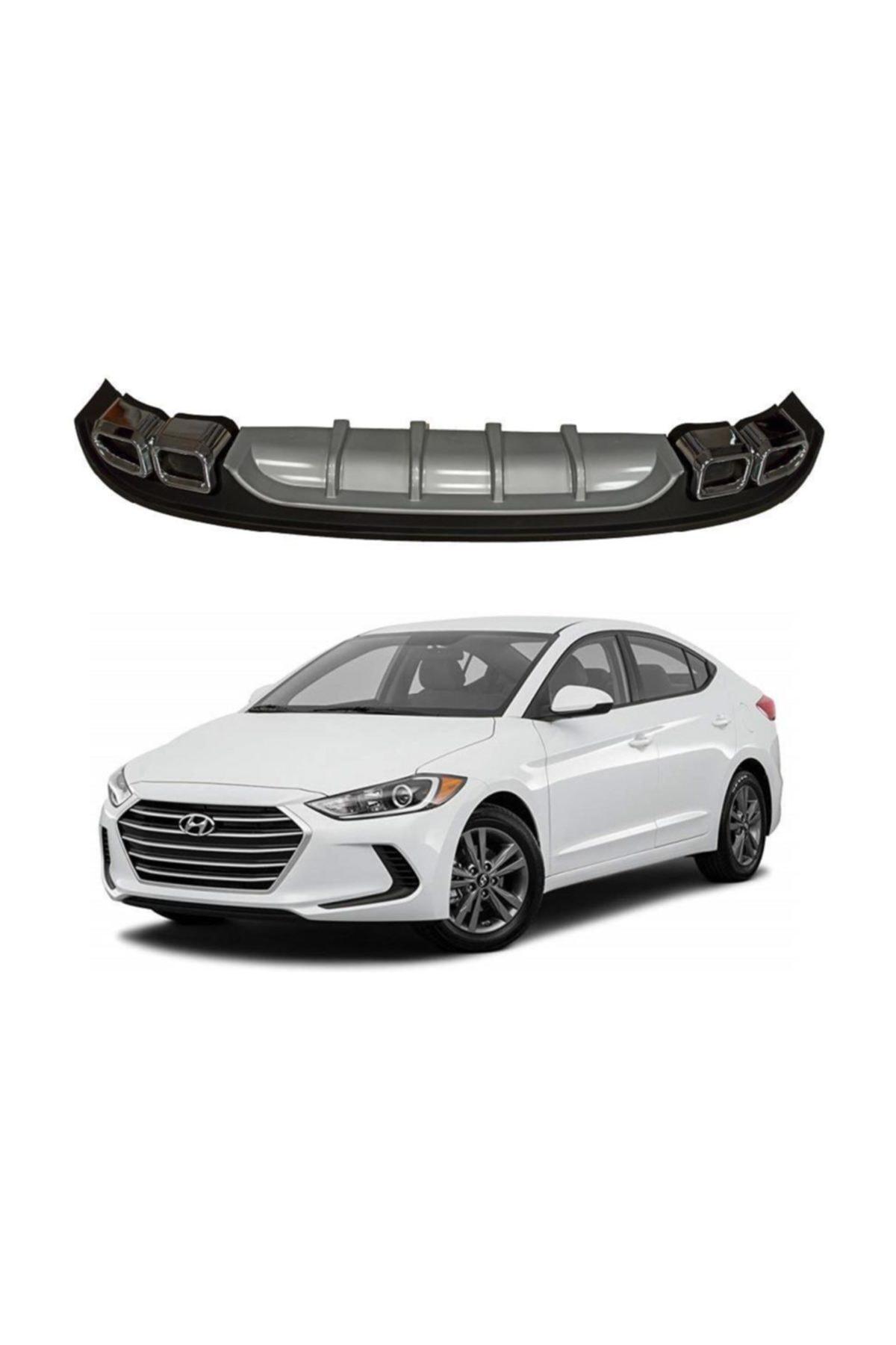Hyundai ELANTRA 2017+ 4 ÇIKIŞLI DİFÜZÖR 1