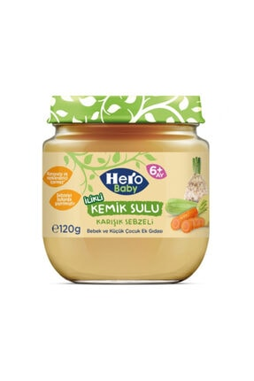 Hero Baby Kemik Sulu Karışık Sebze 120gr