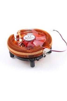 TURBOX TB-12LR 12CM Fanlı Combo Alüminyum Soğutuculu 1156-775Pin İşlemci Fanı