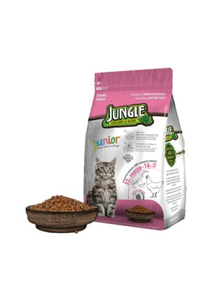 Jungle 1,5 kg Yavru Tavuklu Kedi Maması