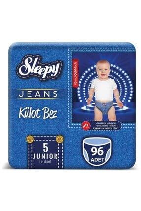 Sleepy Jeans Külot Bez 5 Numara Junior 4'Lü Jumbo  96 Adet 11-18 Kg