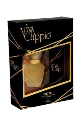 Viva Cappio Cappio Classic Edt 60 ml + 150 ml Deodorant Kadın Parfüm seti 8690973040848