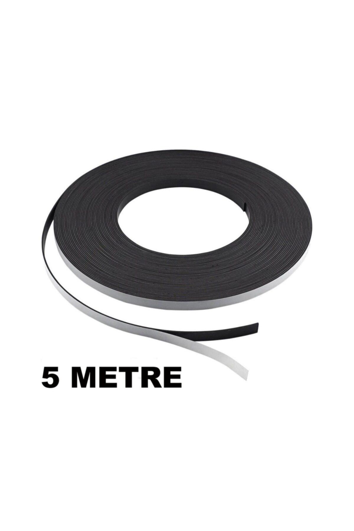 Dünya Magnet 5 Metre Şerit Magnet Mıknatıs - Arkası Yapışkanlı Çıkartmalı(5 Metre) 1
