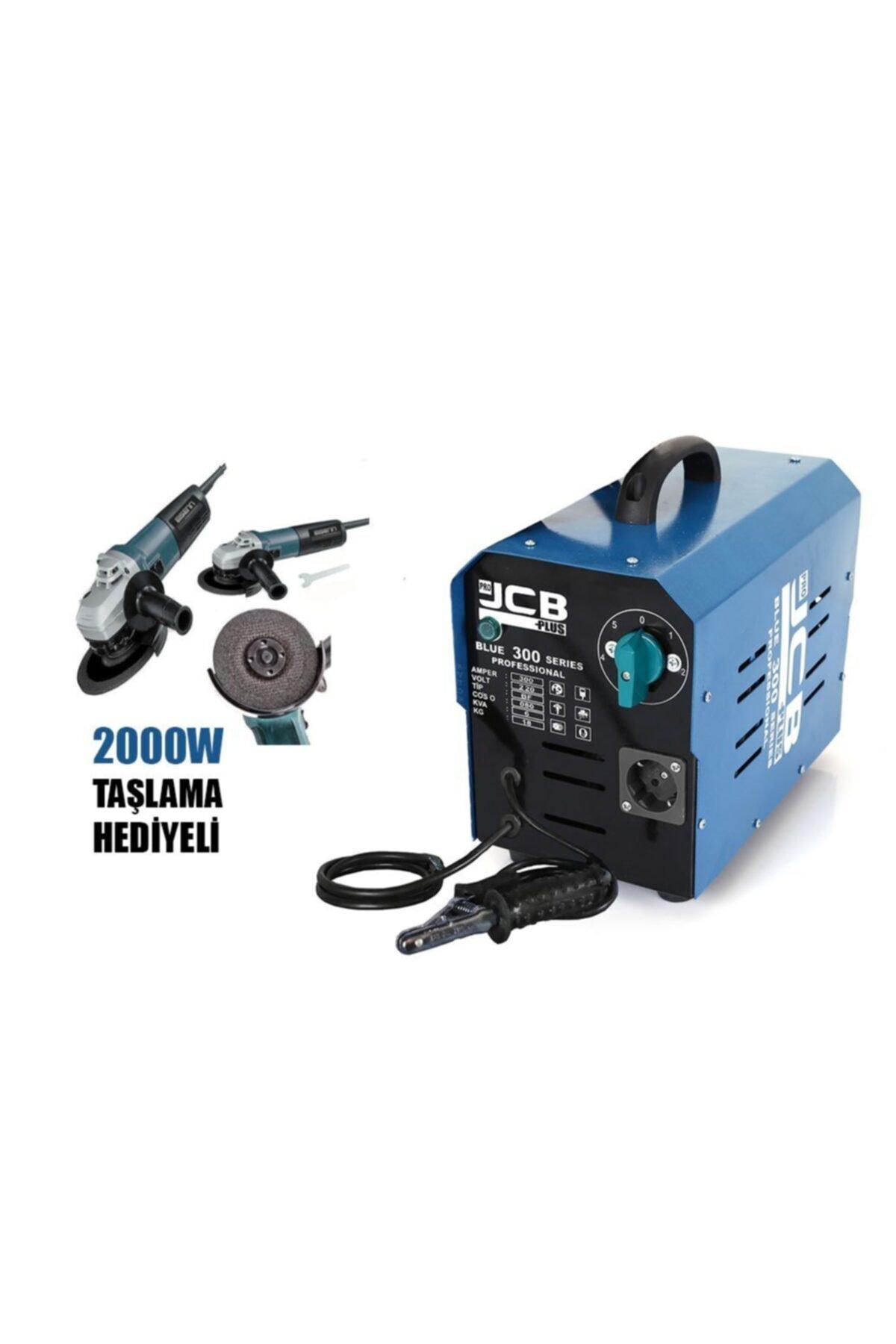 ProJCB Plus Jcb Pro Plus BLUE 300 5 Kademeli Kaynak Makinası 300 Amper Bakır Sargılı 2000 W Spiral Hediyeli 1