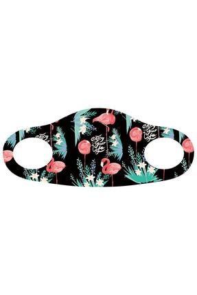 Noon Collection Noon NN7028 Kadın Baskılı Maske