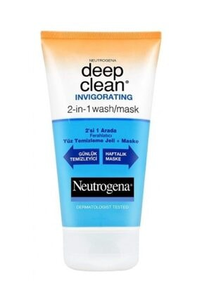 Neutrogena Deep Clean Ferahlatıcı Jel + Maske 3574660296037