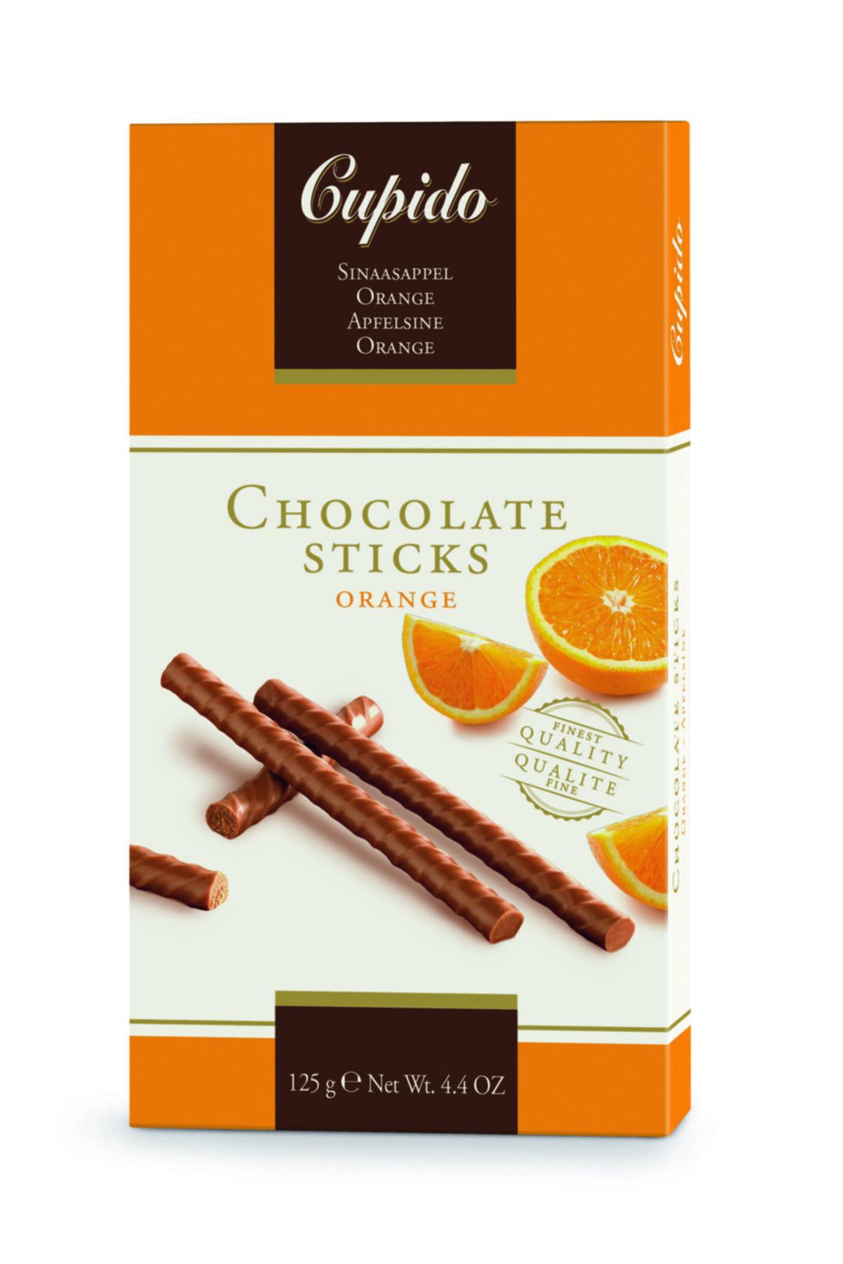 IKEA CUPIDO Portakallı çikolata çubukları 125 gr 1