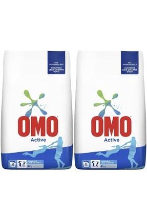 Omo Matik Toz Deterjan 8+8 Toplam:16 kg Active (106 Yıkama)