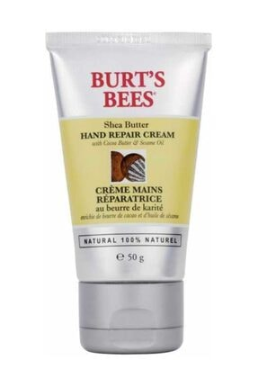 Burts Bees %100 Doğal Shea Yağı İçeren Onarıcı El Kremi - Shea Hand Cream 50 g 792850291911