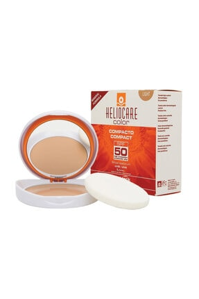 Heliocare Kapatıcı Özellikte Kompakt Güneş Koruyucu - Buğday Ten Spf50 - Color Compact Light 8470002367036