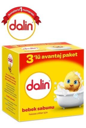 Dalin Bebek Sabunu 100Gr 6 Lı Set Hassas Ciltler İçin Kutu (2Pk*3)