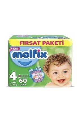 Molfix Unisex Bebek Bezi 4 Beden Maxi Fırsat Paketi 60 Adet