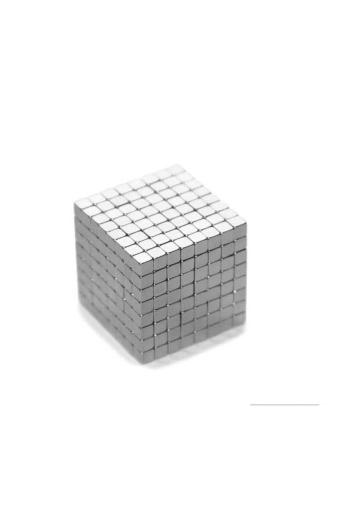 Dünya Magnet 50 Adet 3mm x 3mm X 3mm Güçlü Küp Neodyum Mıknatıs(50'li Paket) 1