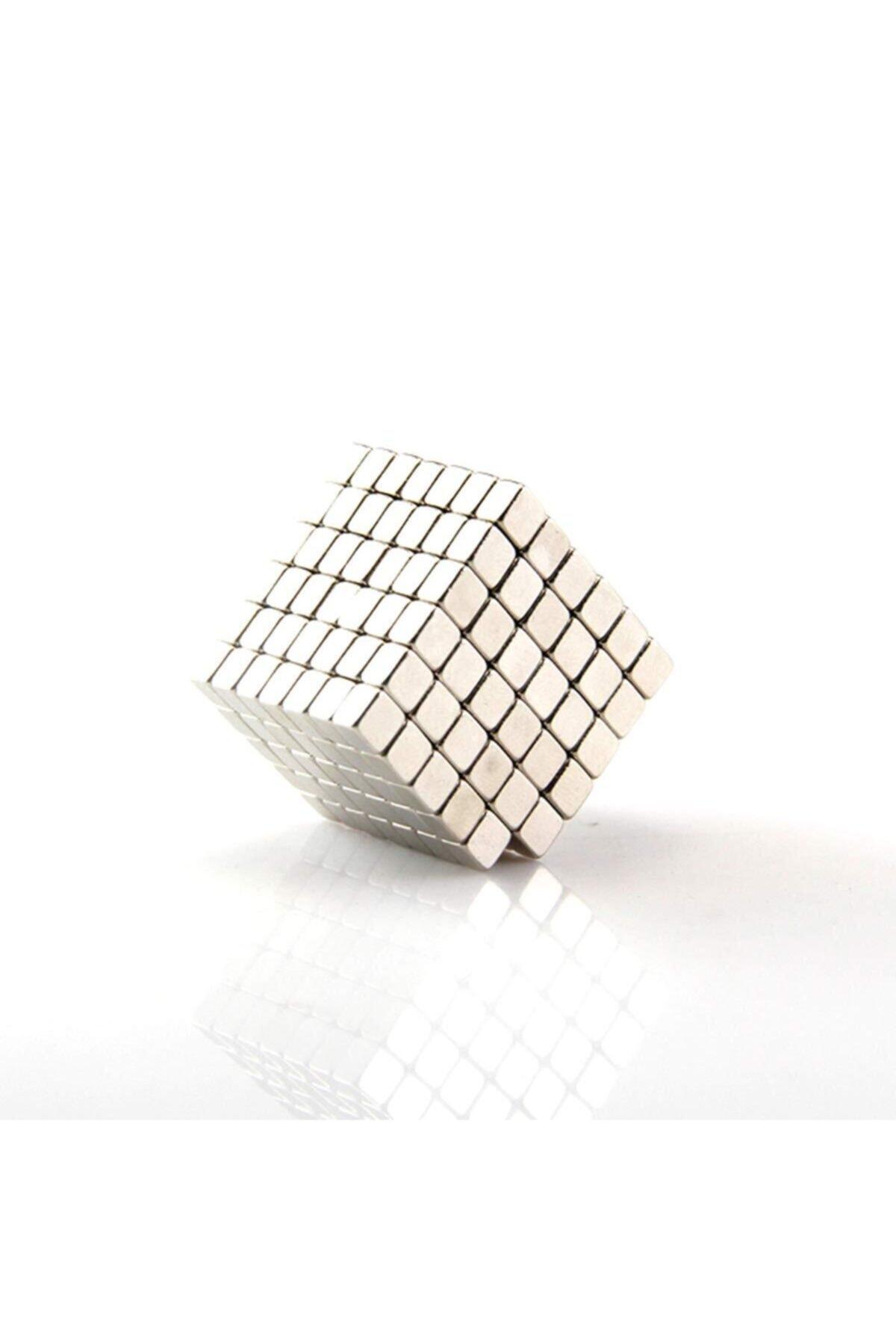 Dünya Magnet 50 Adet 3mm x 3mm X 3mm Güçlü Küp Neodyum Mıknatıs(50'li Paket) 2