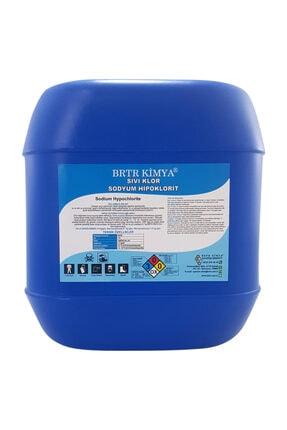 Brtr Kimya Saf Sıvı Klor Sodyum Hipoklorit - 25 kg