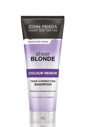 John Frieda Turunculaşma Karşıtı Mor Şampuan - Sheer Blonde Color Renew Conditioner 250 ml 5037156227376