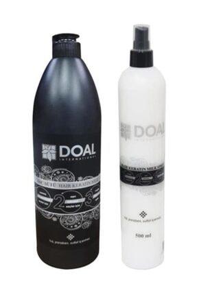 DOAL Keratin Sütü 1000 ml + Keratin Milk Saç Spreyi 500 ml