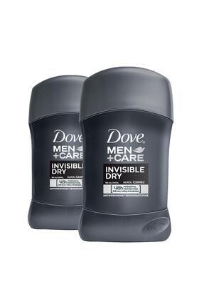 Dove Men Erkek Deodorant Stick Invisible 50 ml  x 2 Adet