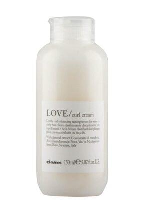 Davines Love Curl Bukle Belirginleştirici Durulanmayan Kremi 150 ml