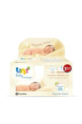 Uni Baby Yeni Doğan Islak Havlu 40 Yaprak 3'lü