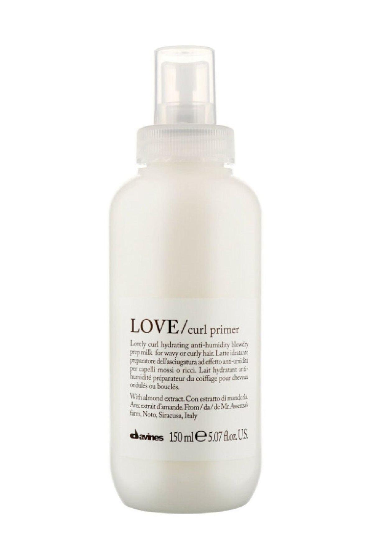 Davines Love Curl Primer Kıvırcık , Dalgalı Saçlar İçin Süt 150 ml 1