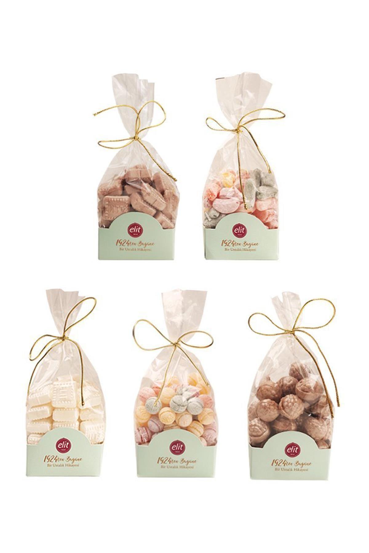 Elit Çikolata Karışık Bonbon Şeker 5'li Set 1