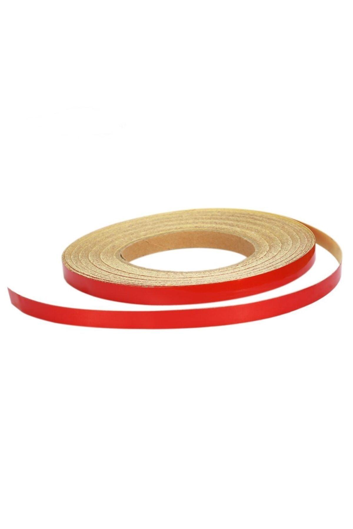 Oto Aksesuarcım Reflektörlü Kırmızı Jant Şeridi 0.5cmx10 Metre 2
